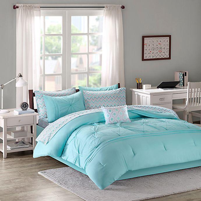 Alternate image 1 for Intelligent Design Toren 7-Piece Twin XL Comforter Set