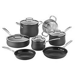 Cuisinart® Nonstick Silhouette Hard Anodized 11-Piece Cookware Set in Grey