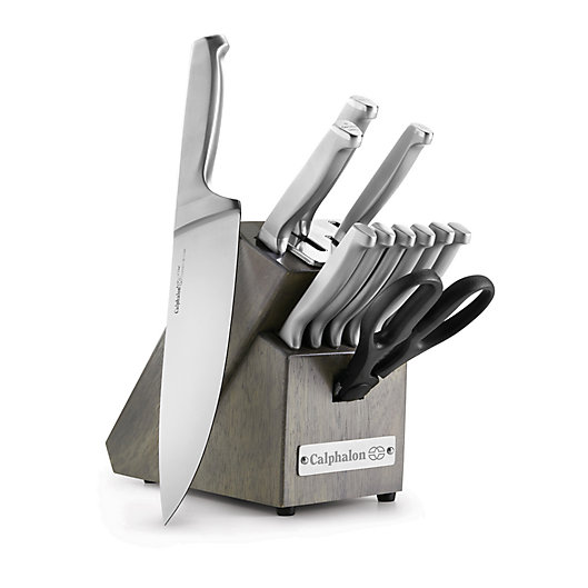 Alternate image 1 for Calphalon® Classic Self-Sharpening 12-Piece Cutlery Set with SharpIN™ Technology