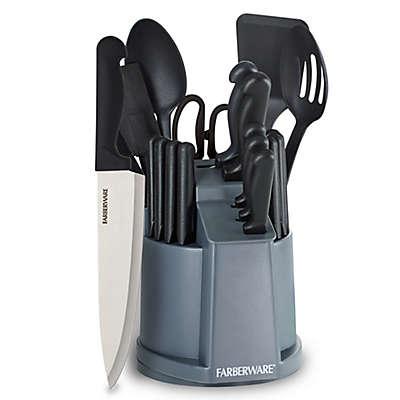 Farberware® 22-Piece Cutlery And Tool Carousel Set