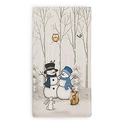 Winter Friends 20-Count Paper Guest Towels