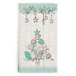 Coastal Christmas 20-Count Paper Guest Towels