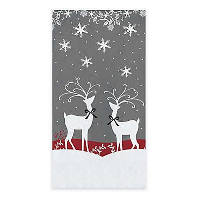 Reindeer Games 20-Count Paper Guest Towels