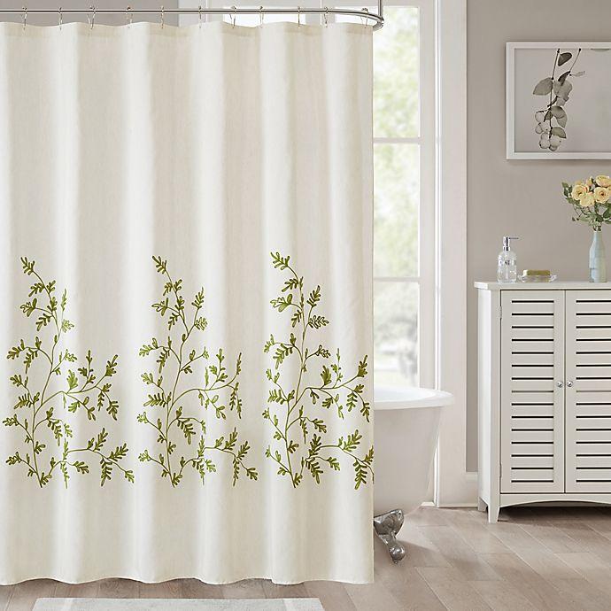 Jillian Shower Curtain In Sage