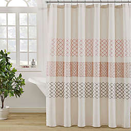 KAS ROOM Nola Shower Curtain in Linen