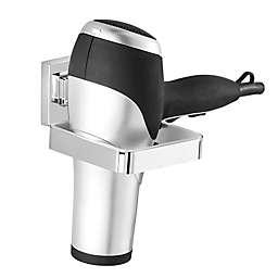 Wenko Vacuum- Loc Quadro Hair Dryer Holder in Chrome