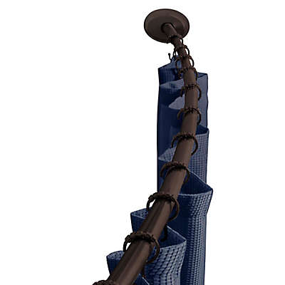 TITAN NeverRust™ Aluminum Single Curved Shower Rod