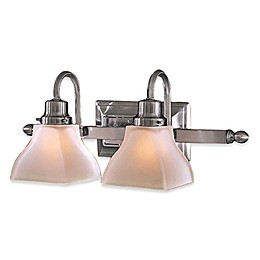 Minka Lavery® Mission Ridge Double 2-Light Wall Sconce in Brushed Nickel