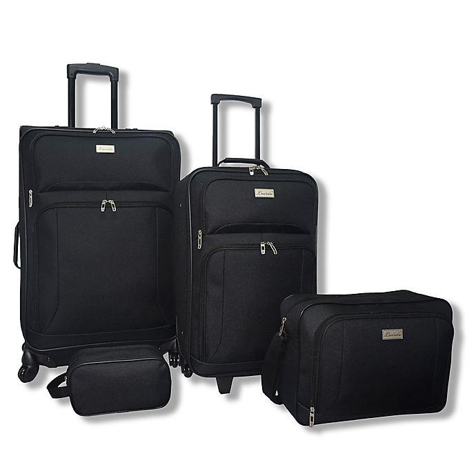 Alternate image 1 for Lucida 4-Piece Luggage Set