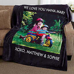 Picture Perfect Fleece Photo Blanket
