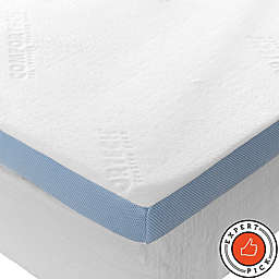 COMFORTECH® Queen Mattress Enhancer in White