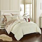 Chic Home Dahlia 10-Piece Queen Comforter Set in Beige
