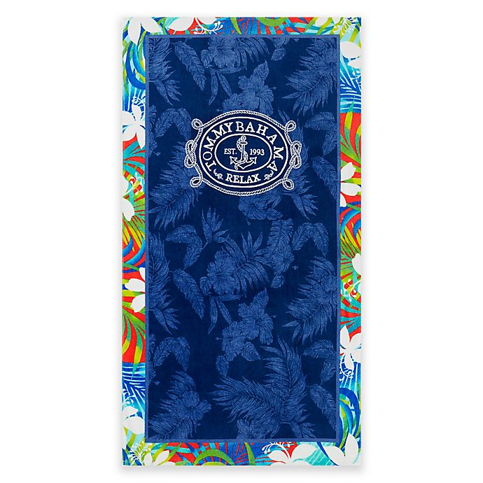 Tommy Bahama Tropical Tangle Beach Towel In Blue Bed Bath Beyond