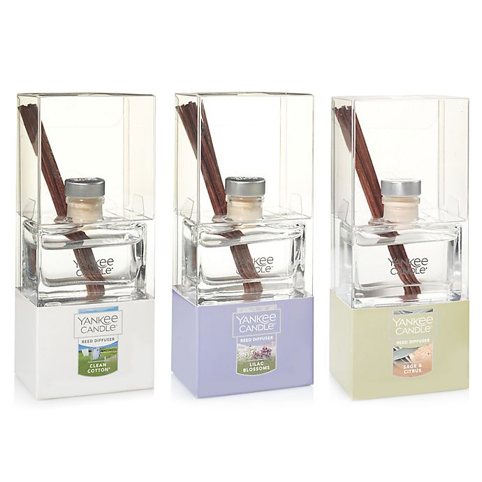 Alternate image 1 for Yankee Candle® Flowery Fragrances Signature Mini Reed Diffusers Collection