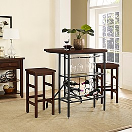 Crosley Sienna 3-Piece Casual Dining Set
