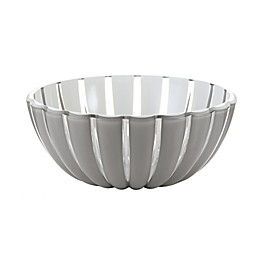 Fratelli Guzzini Grace Acrylic Medium Salad Bowl in Sky Grey