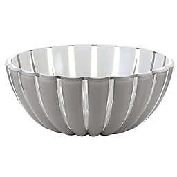 Fratelli Guzzini Grace Acrylic Large Salad Bowl in Sky Grey