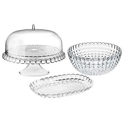 Fratelli Guzzini Tiffany Clear Serveware Collection