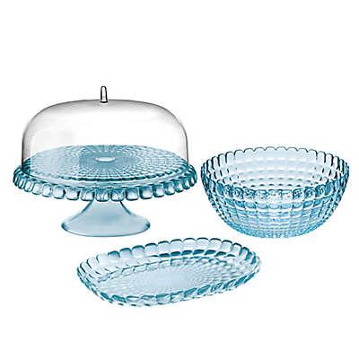 Fratelli Guzzini Tiffany Serveware Collection in Sea Blue
