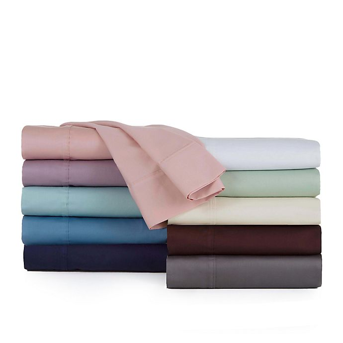 Alternate image 1 for Modern Living Solid Color 300-Thread Count Sheet Set
