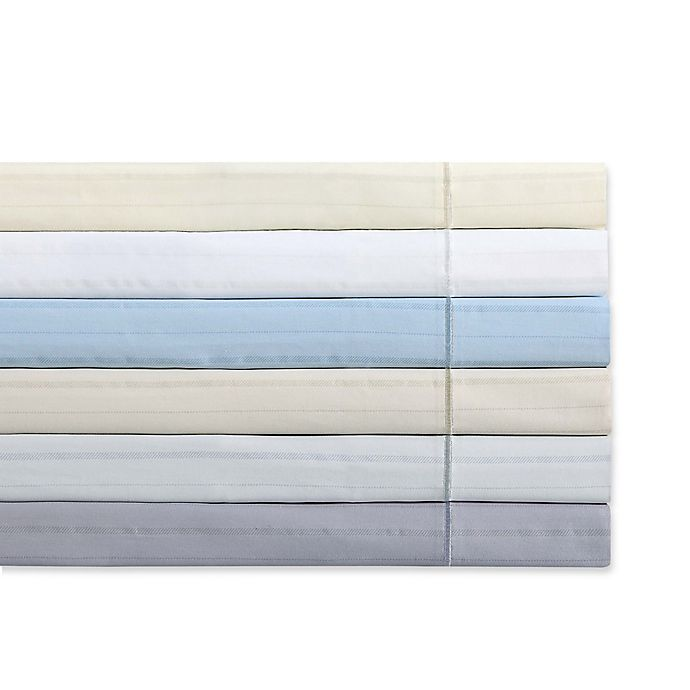 Alternate image 1 for Charisma Classic Stripe 310-Thread-Count Sheet Set