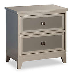 Pali™ Treviso Nightstand in White/Grey
