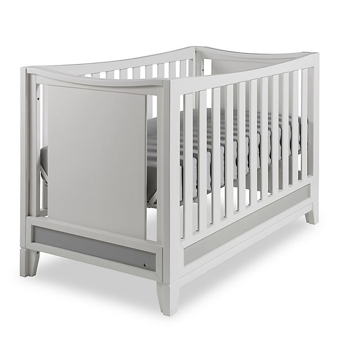 Alternate image 1 for Pali™ Treviso 4-in-1 Convertible Crib in White/Grey