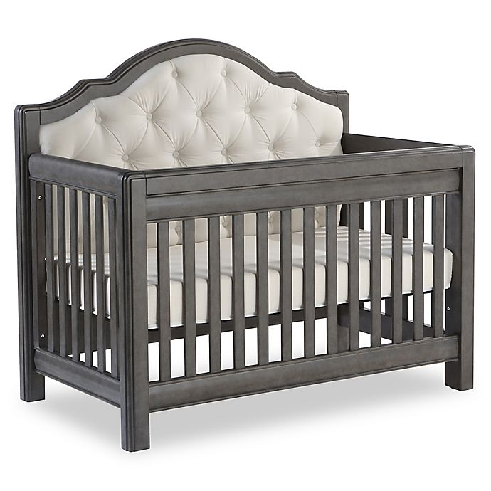 Alternate image 1 for Pali™ Cristallo Forever 4-in-1 Convertible Crib in Granite