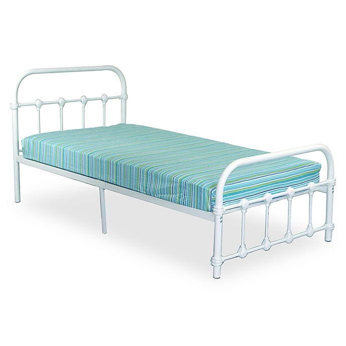 Alternate image 1 for Rack Furniture Melissa Metal Twin Bed