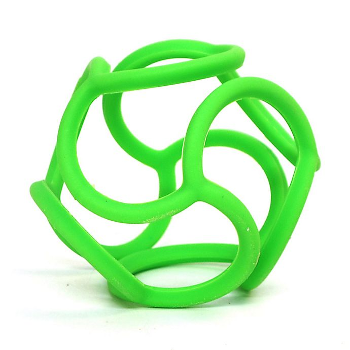 Alternate image 1 for OgoSport Bolli Tactile and Sensory Ball Peg Toy in Green