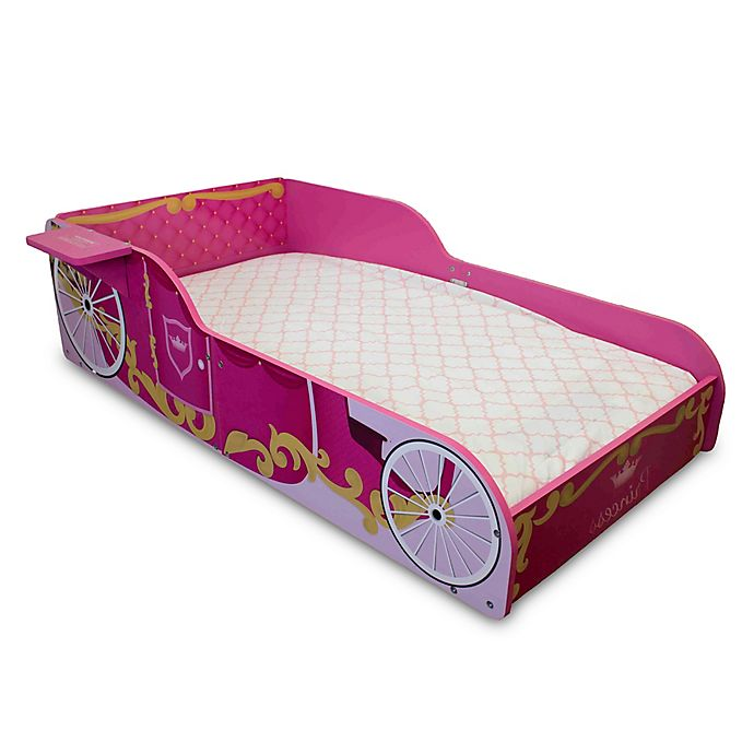 Alternate image 1 for Princess Toddler Bed in Pink