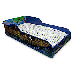 Pirate Toddler Bed in Blue