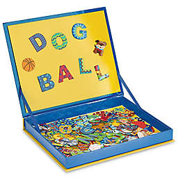 Stephen Joseph® Spell & Count Magnetic Play Board in Blue