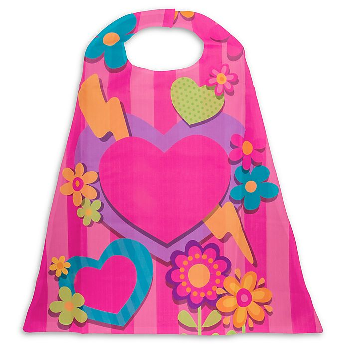 Alternate image 1 for Stephen Joseph® Heart Cape in Pink