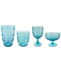 Euro Ceramica Fez Turquoise Wine & Beer Collection
