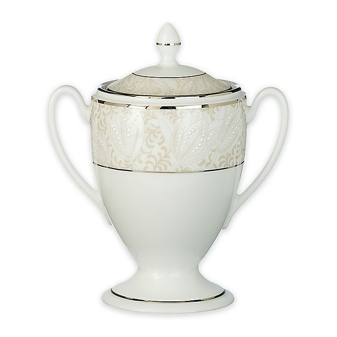 Alternate image 1 for Waterford® Bassano Covered Sugar Bowl