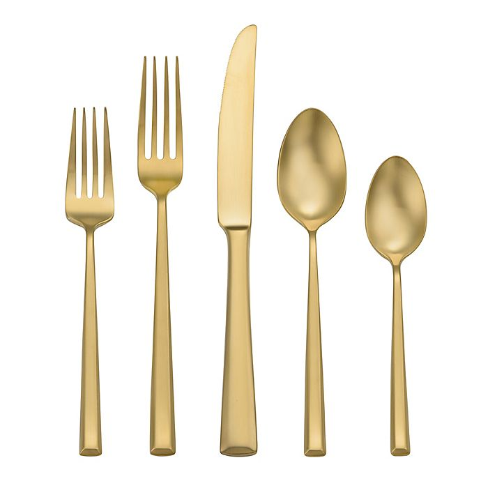 Alternate image 1 for Oneida® Pearce Lux 5-Piece Flatware Place Setting