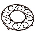 Home Basics® Scroll Trivet in Bronze