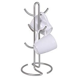 Home Basics® Brushed Satin Nickel Mug Tree