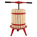 18-Liter Harvest Fiesta Fruit and Wine Press in Red