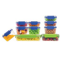 Progressive™ SnapLock 20-Piece Container Set in Blue/Green