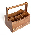 Medici Acacia Wood Cutlery Caddy