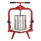 14-Liter Harvest Fiesta Fruit and Wine Press in Red