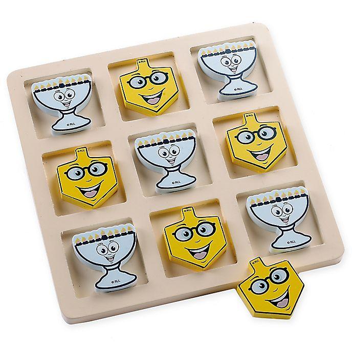 Alternate image 1 for Wooden Hanukkah Tic-Tac-Toe Game