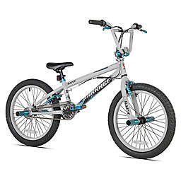 Razor Barrage 20-Inch Boy's Bicycle in White/Black