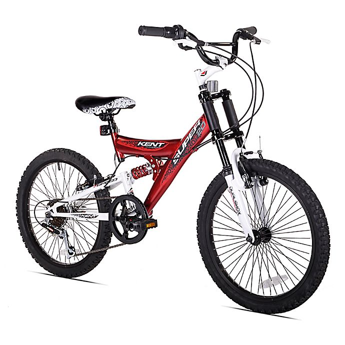 Alternate image 1 for Kent Super 20-Inch Boy's Mountain Bicycle in Red/Black