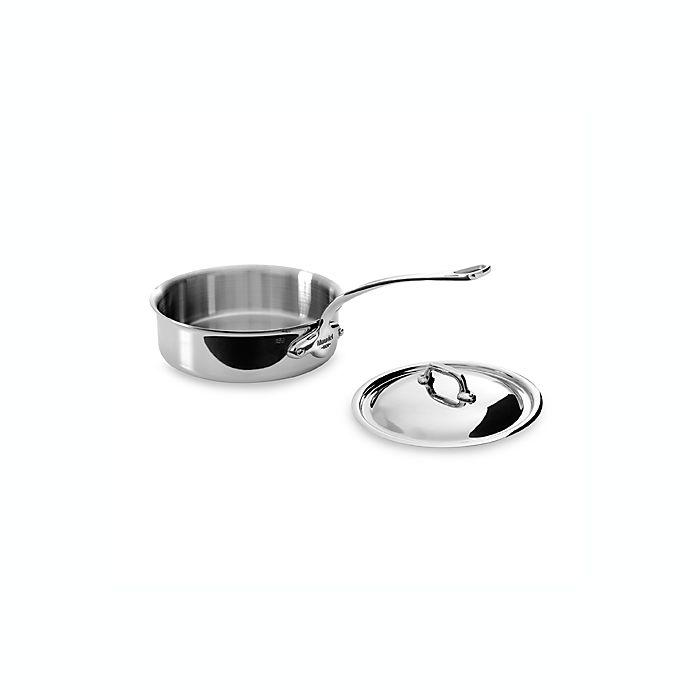 Alternate image 1 for Mauviel M'cook Stainless 1.9 qt. Sauté Pan