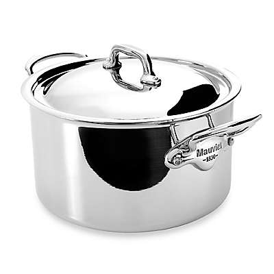 Mauviel M'cook Stainless 9.3 qt. Stewpan