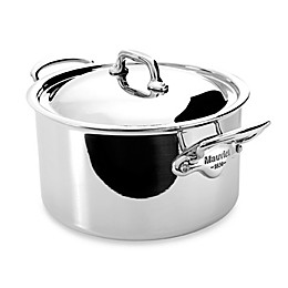 Mauviel M'cook Stainless 6.2 qt. Stewpan