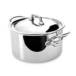 Mauviel M'cook Stainless 3.6 qt.  Stewpan